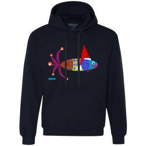 Christmas Fishy Fleece Sweatshirt