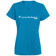 #wineonthebeach Ladies' Wicking T-Shirt