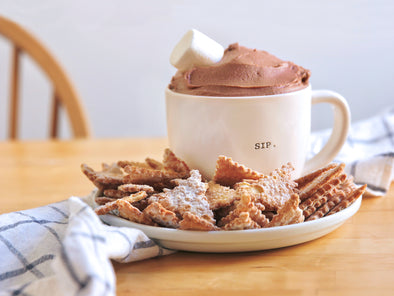 Hot Chocolate Cannoli Dip