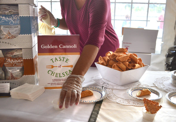 Taste of Chelsea 2018 with Golden Cannoli Shells Co.