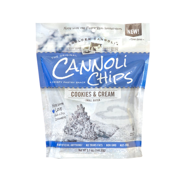 Cookies & Cream Cannoli Chips - Bag