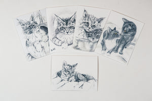 Ember's FIP Angels Note Cards Set B