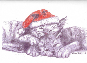 Ember's FIP Angels Note Cards Holiday Card Set (8)