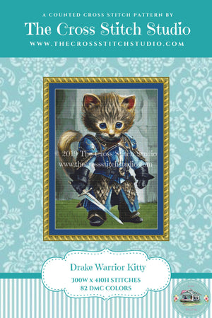 FIP Warrior (Drake) Cross Stitch Pattern
