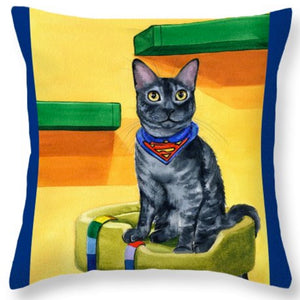 Smokey Throw Pillow