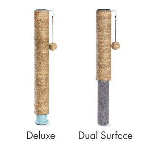Hauspanther: Scratch Pole - Adjustable Under-table Cat Scratcher