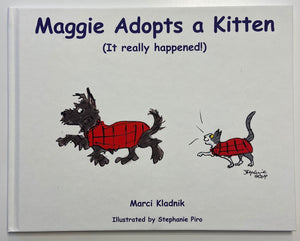 Maggie Adopts a Kitten (It really happened!)