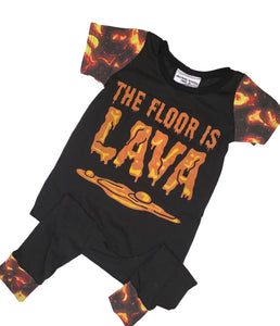 12-18 The Floor is Lava Romper