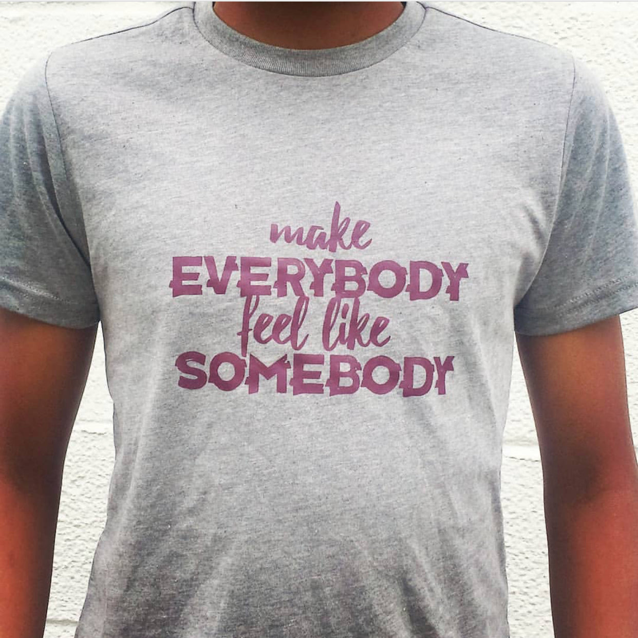 Make Everybody feel like Somebody Tee & Bodysuit