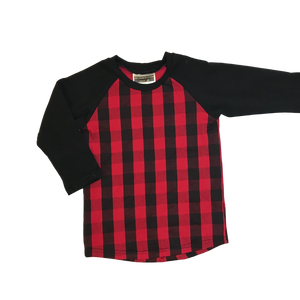 Buffalo Plaid Raglan - RTS