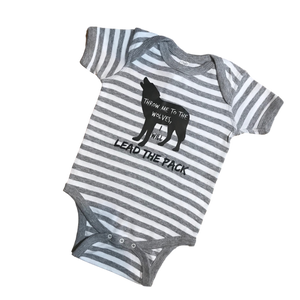 Lead the Pack Striped Bodysuit - 18mo