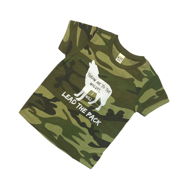 Lead the Pack Wolf T-Shirts & Bodysuits