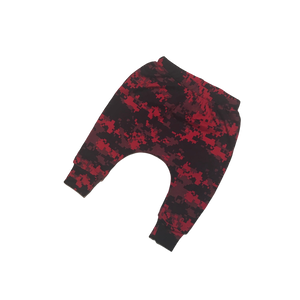 Red Camo Super Skinny Harems - RTS