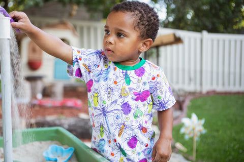 Mini Beasts Organic Cotton Tee
