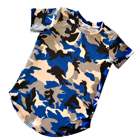 Camo Scoop Tee - Capsule Piece