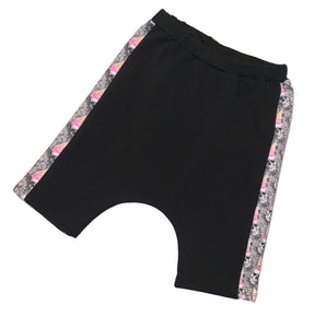 Ice Cream Skull Harem Shorts