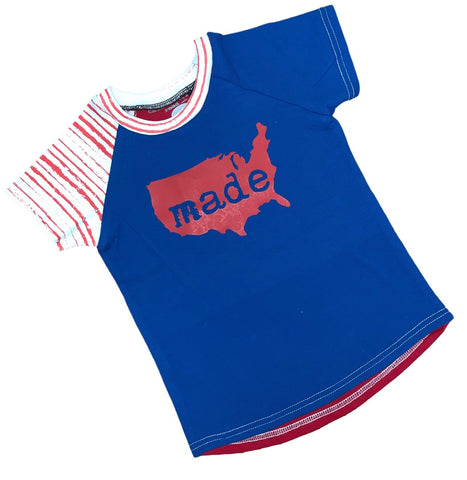 Made in the USA Raglans