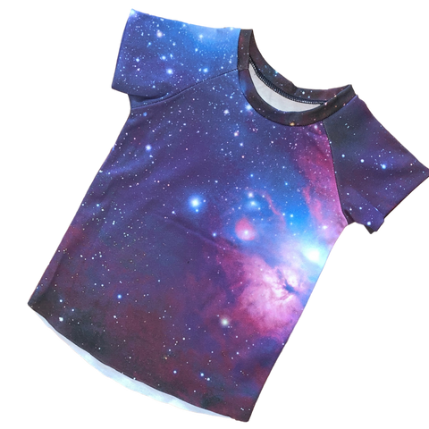 Sutton's Galaxy 12 month raglan - RTS