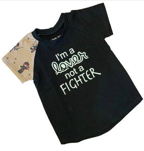 I'm a Lover, not a Fighter Tee