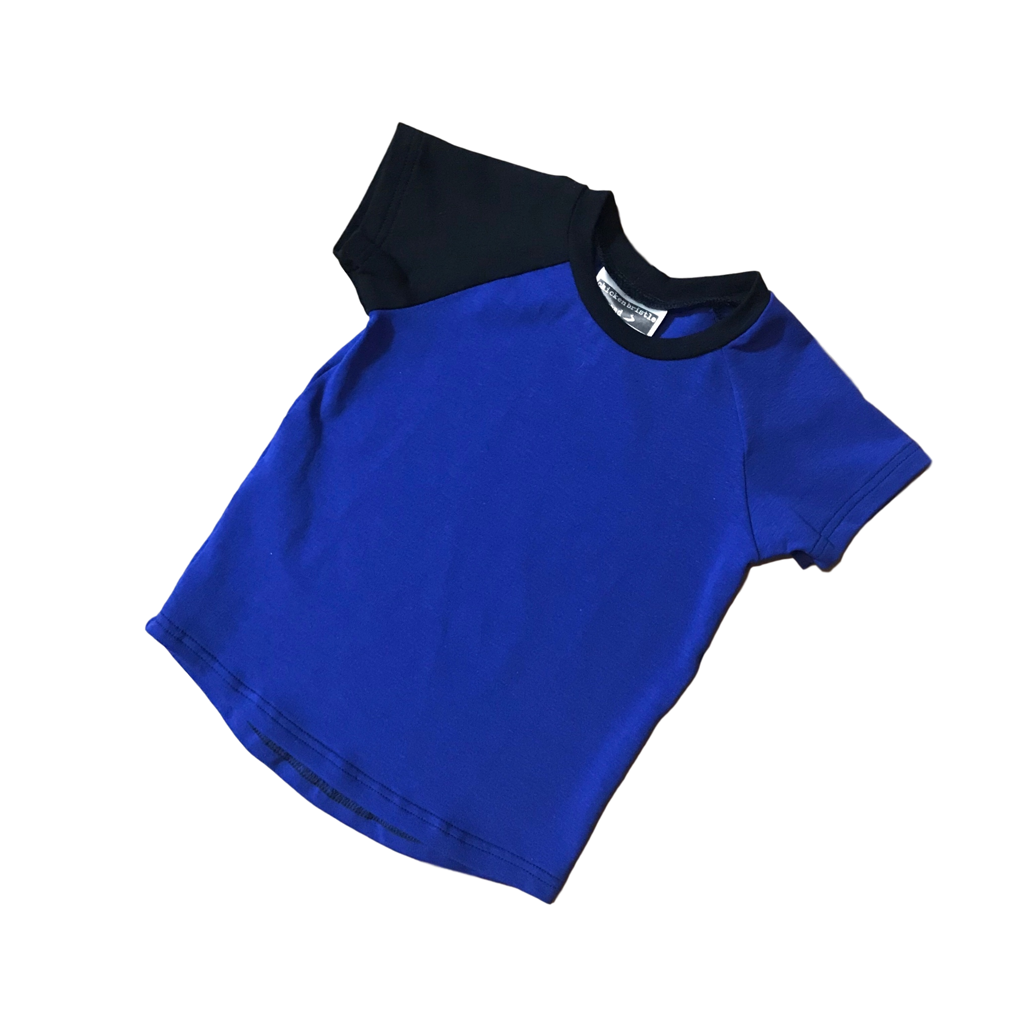 Basic Solid Raglan - Royal Blue