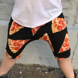 Pizza Harem Shorts - size 3-6 months