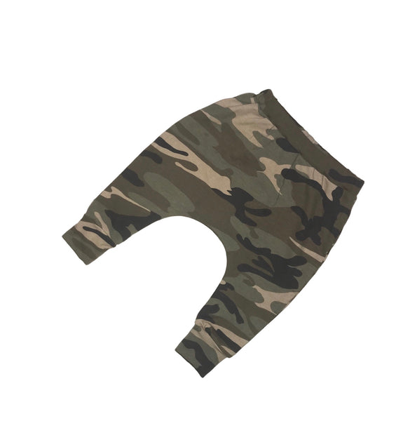 Old School Camo Super Skinny Harems