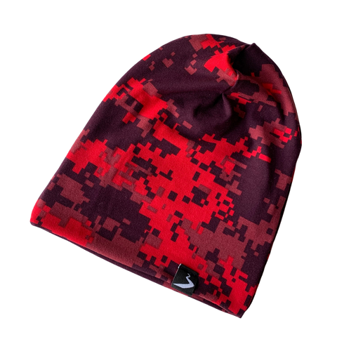 Red Camo Beanies
