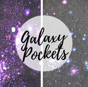 Extra Interchangeable Pockets - Galaxy Prints