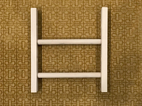 Fringeless Wood Jig for Mirrix Zach Loom (19 inches wide)