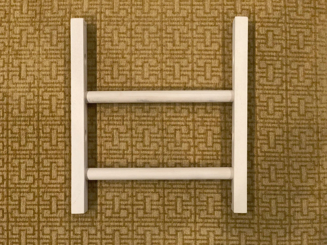 Fringeless Wood Jig for Mirrix Little Guy Loom (9 inches wide)