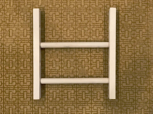 Fringeless Wood Jig for Mirrix Lani Loom (5 inches wide)