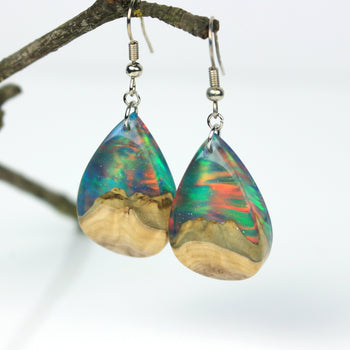 Galaxy Opal Earrings