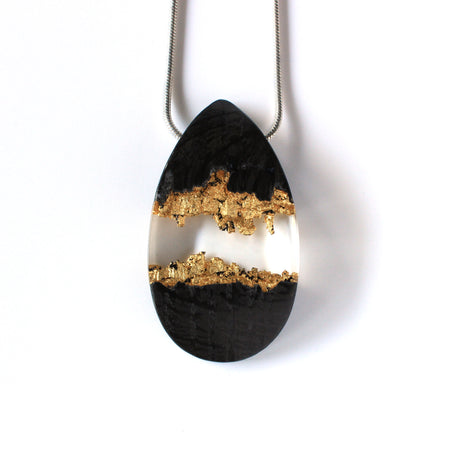 Golden Caves Necklace