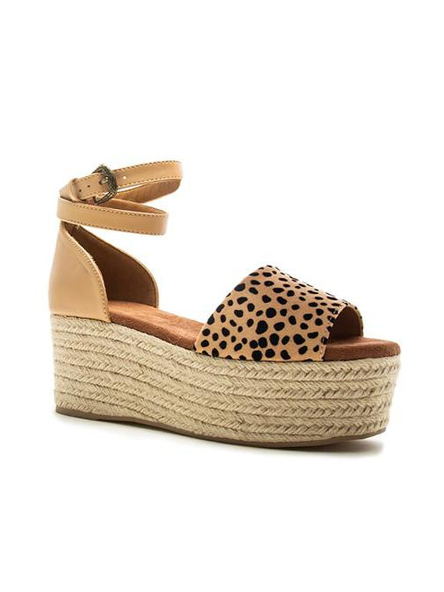 Give Me Leopard Sandal-SALE