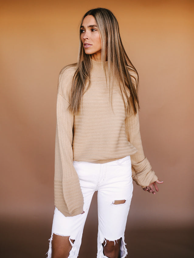 Hailee Sweater (Butterscotch)