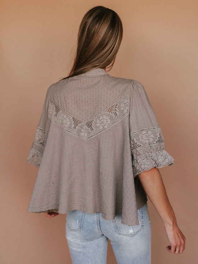 Walk In the Park Top FREE PEOPLE