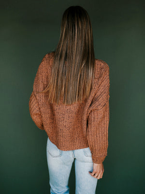 FREE PEOPLE On Your Side Pullover // Sugar Brown