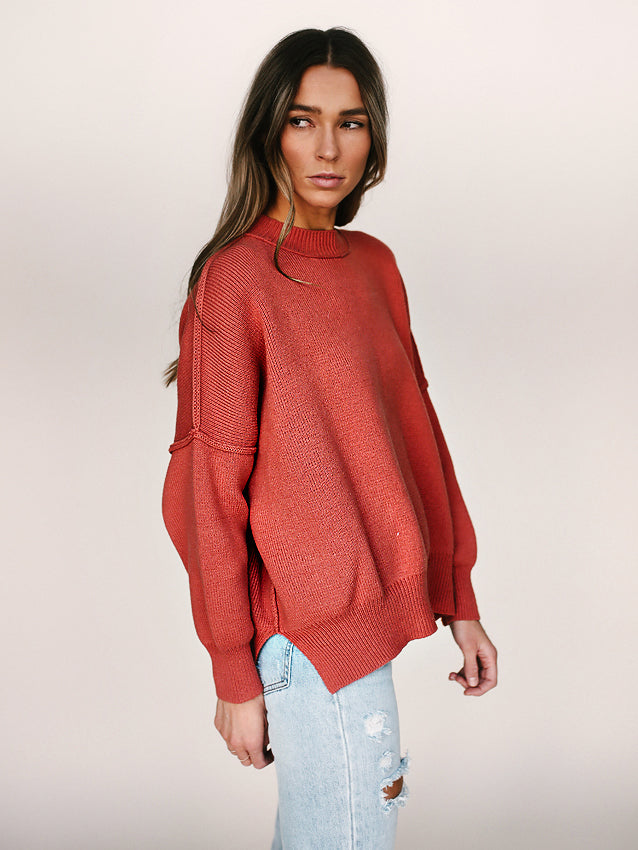 Tommy Sweater (Coral)