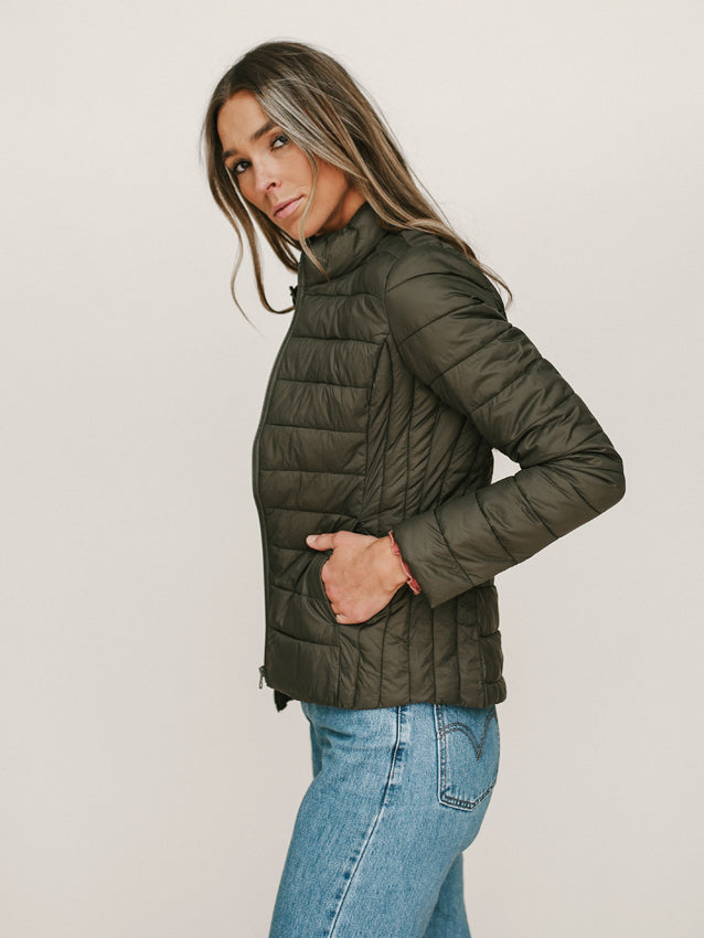 McKell Quilted Puffer Jacket