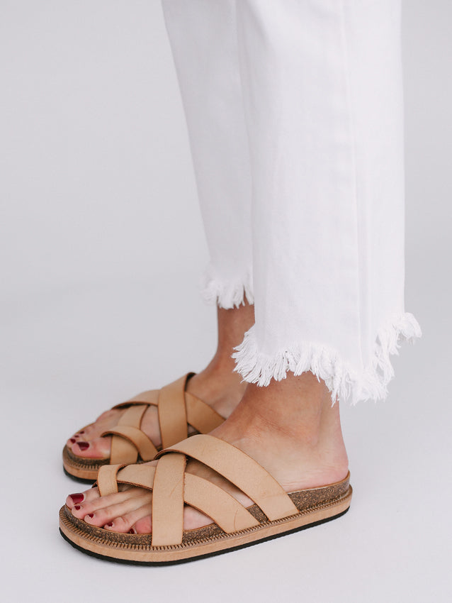 FREE PEOPLE Ventura Sandal // Tan