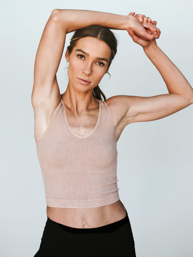 Work It Out Top // Vintage Nude