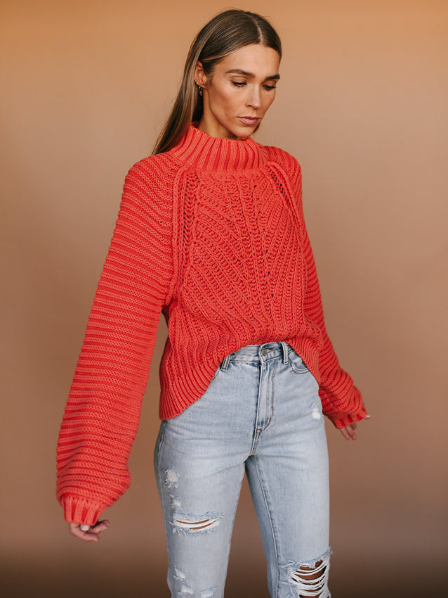 Sweetheart Sweater FREE PEOPLE