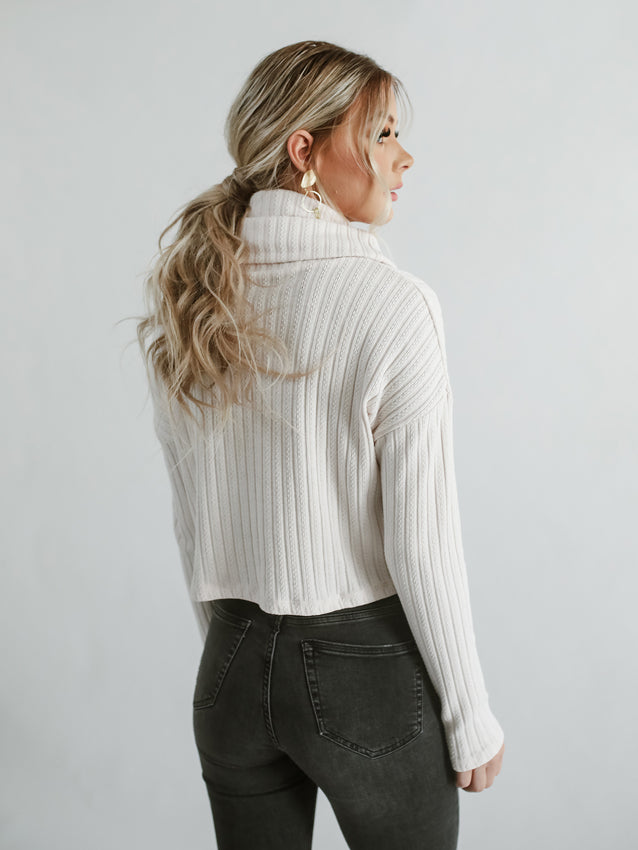 Rylee Crop Sweater