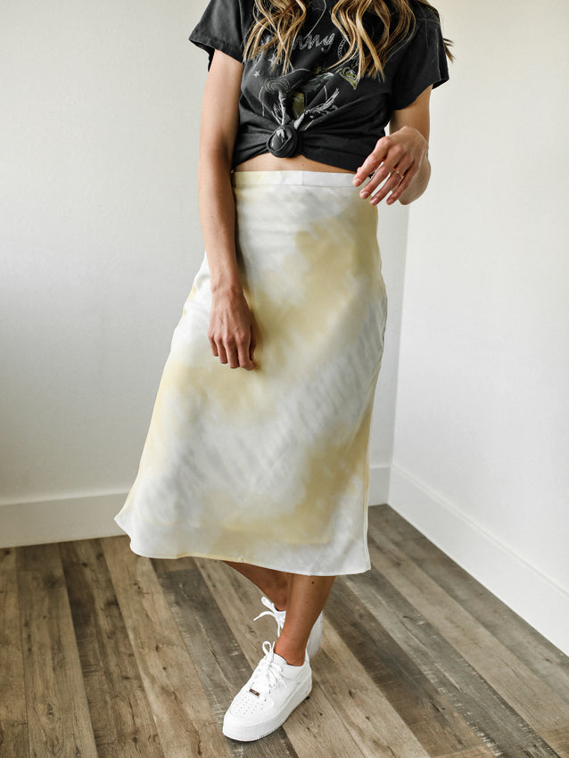 When Life Gives Lemons Midi-Skirt