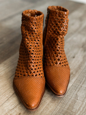 In The Loop Woven Bootie