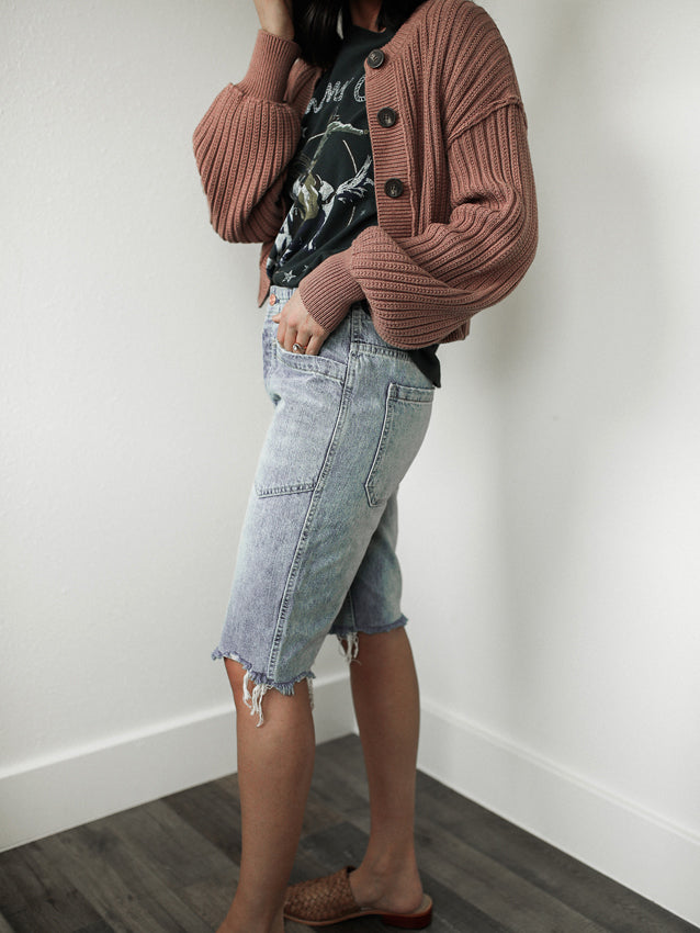 FREE PEOPLE-Rebel Rouser Cut-Off's (Denim)-SALE
