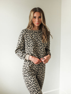 Leopard Lounge Set