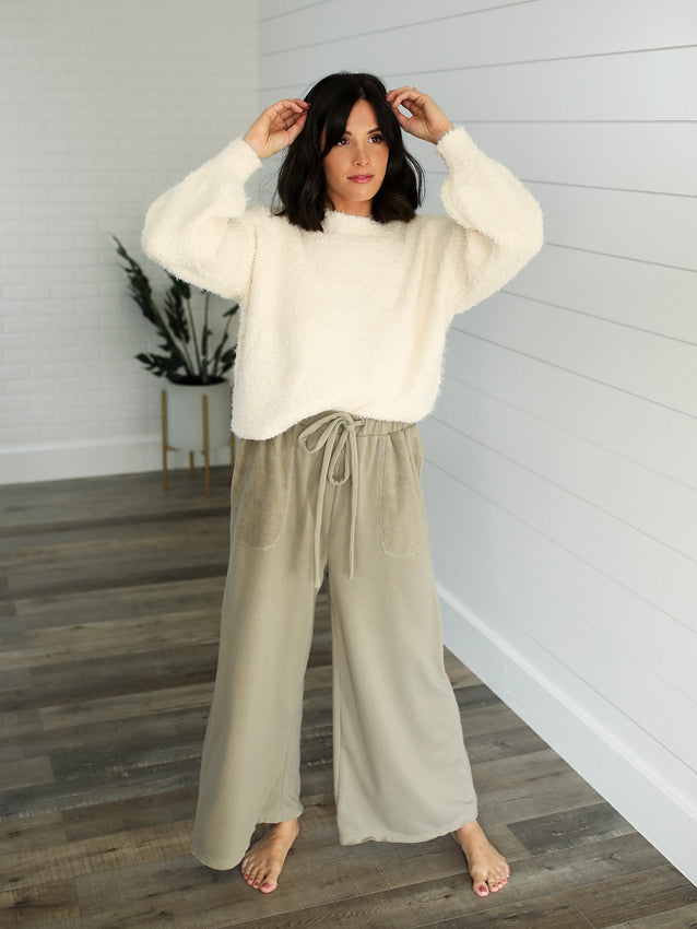 Hello Lounge Pants (Olive)