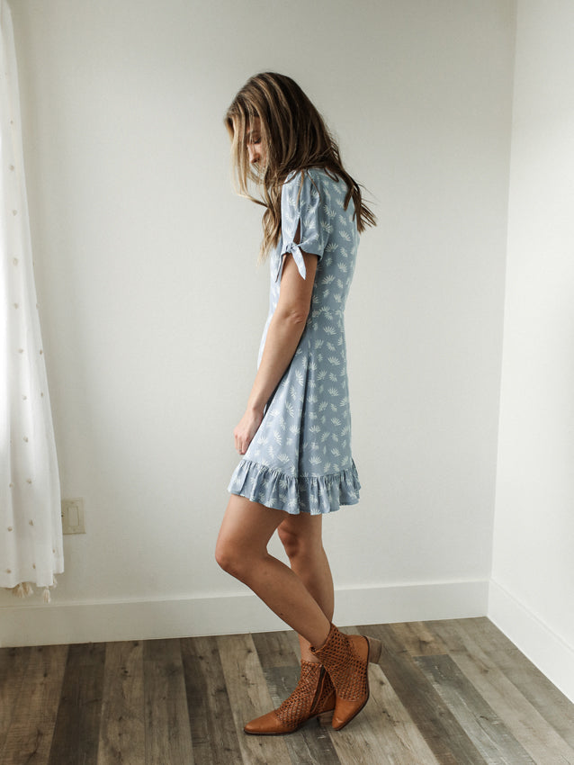 The Burlington Dress (Powder Blue)