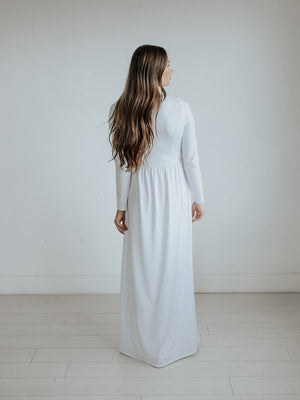 Simply beautiful temple dress
